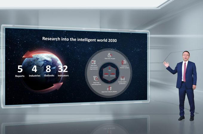 Huawei Releases the Intelligent World 2030 Report